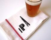 Beer Lovers Towels / IPA / Stout / Porter / Pilsner / Set of 4 Towels / Gifts for Him /