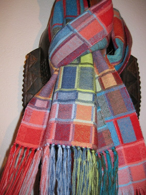 Handwoven Wool Scarf for Men and Women