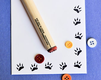 Bear Claw Rubber Stamp