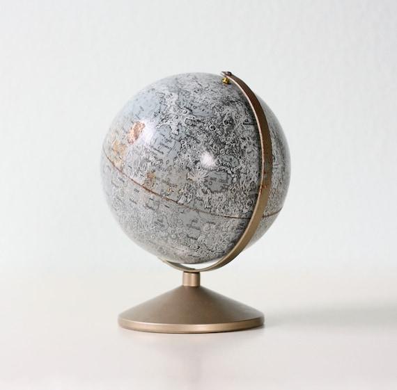 Vintage Moon Globe Replogle