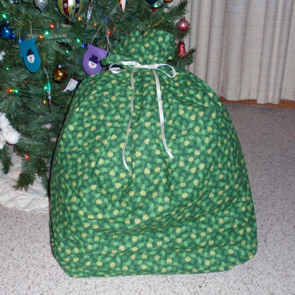Extra large gift bag christmas trees giant