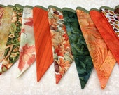 FREE SHIPPING Beautiful Autumn Bunting