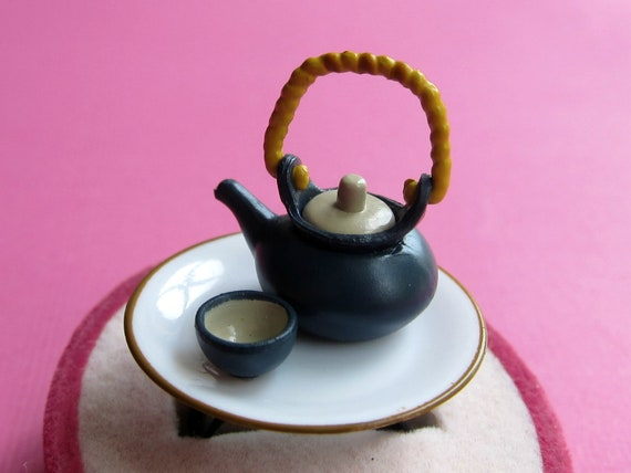 Asian Tea Set Ring
