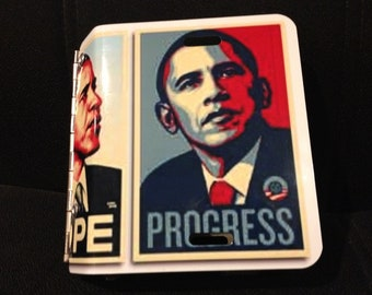 Obama license plate photo album JUST REDUCED (some scratches)