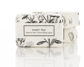 Sweet Pea & Clover Shea Butter Soap