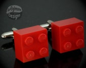 LEGO Red Brick Cufflinks