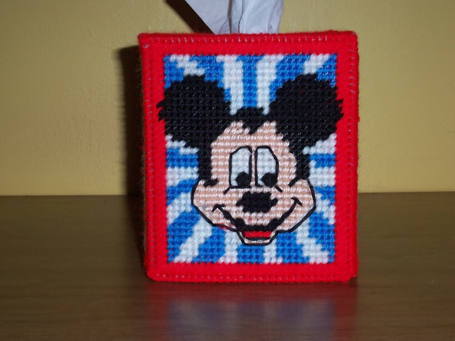 Mickey Mouse Tissue Box Cover