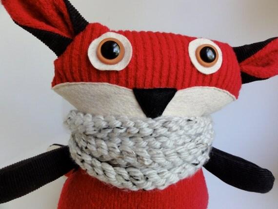 Abigail the Red Fox - Eco Friendly Plushy