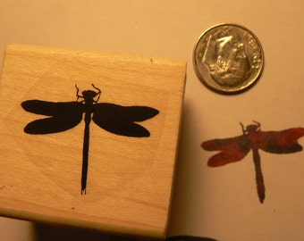 Dragonfly Mini Rubber Stamp P15