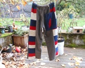 Reserved for SarahWright patchwork pants with bolt custom