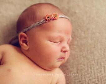 Baby Flower Headband Halo Photography Prop