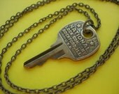Key to Cabinet of Curiosities Key Necklace No. 9