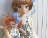 E pattern..My Dolly and Me..MSD doll outfit and Wilabee rag doll