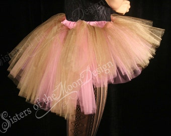 Tutu skirt Adult Peek a boo mini dance bridal costume roller derby rave carnival bustle back - You Choose size - Sisters of the Moon