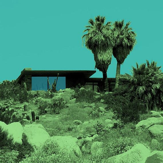 Items similar to palm springs edris house dreamscape on etsy for The edris house palm springs
