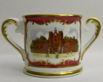 Royal Doulton Miniature Commemorative Loving Cup
