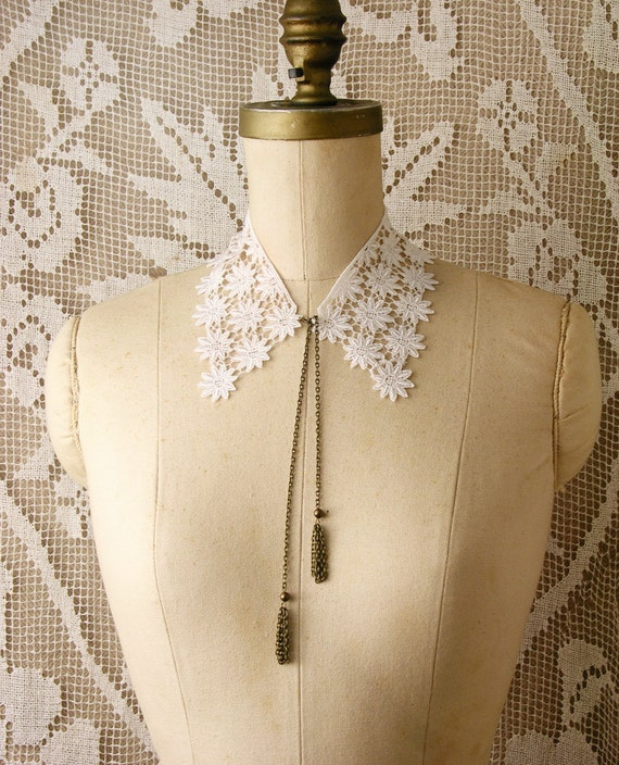 lace collar necklace -KHLORIS-