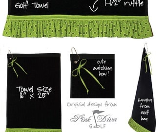 On the Green - Golf Towel