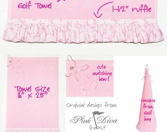 Pink Ribbon - Golf Towel