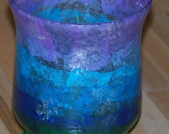 colorful candleholder