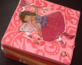 Pink Heart Pixie  -  Toothfairy Box