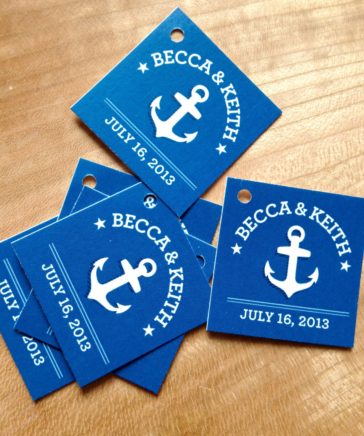 Nautical Wedding Gift Tags : Nautical Wedding Favor Tags Thank you tags Anchor Wedding