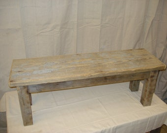 """Driftwood Bench 68""""x15""""x16-23"""" High (Custom Request, new pictures soon)"""