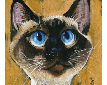 Maddy (Fine Art Print not a real Cat)