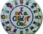 I am a Child of God magnet