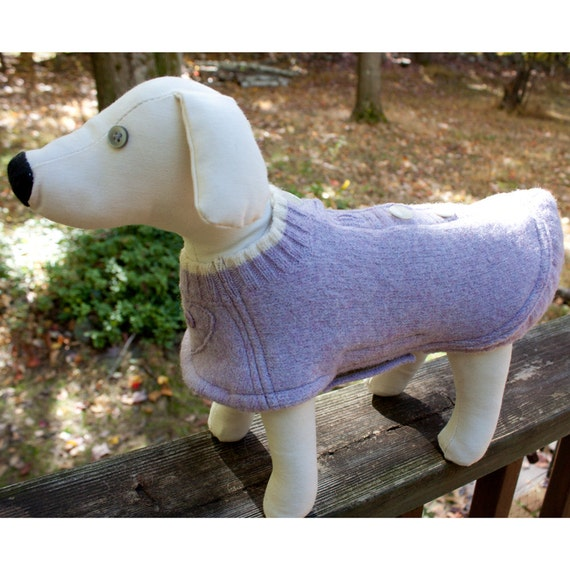 Dog Coat in Felted Wool Size Small