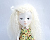 Rosa, Original girl art doll by Paola Zakimi