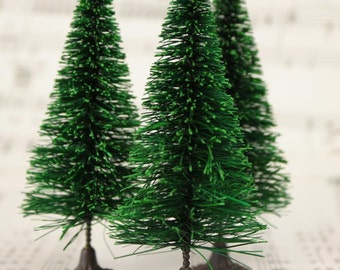 "3"" Bottle Brush Trees - 5 Pieces - 218-0255"