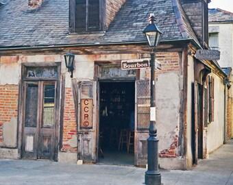 French Quarter, New Orleans Photo, Jean LaFittes, Blacksmith Shop, Bourbon Street, NOLA Photograph, Fine Art, Wall Decor, Louisiana Bar