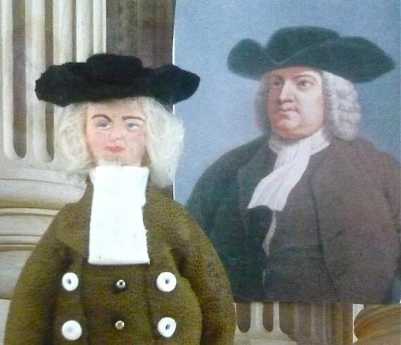William Penn Doll Colonial History Miniature