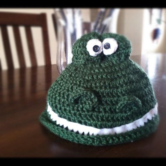 Crochet PATTERN Dinosaur Hat by AcornTreeCreations on Etsy
