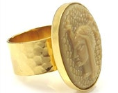 Vintage Egyptian Warrior Ring