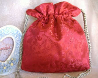 SALE, SALE, Drawstring Bag, Keepsake, Gift for Special Event, MONeY Bag, Evening Bag, Event Accessory