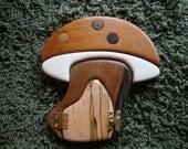 Handmade Fairy Door Gnome Door Hobbit Door One of a Kind  Sale/Gifts Under 40 Dollars