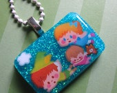 Peter Pan And Neverland Resin Necklace