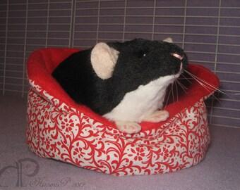 Black Berkshire Rat Plushie