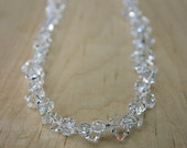 Ice Queen Lux, necklace in Swarovski crystal