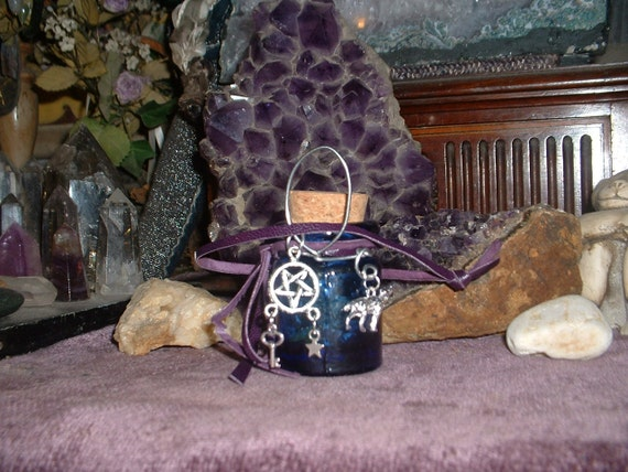 Welsh Witch Hecate Swift Justice Spell Bottle