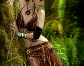 tribal bellydance woodland faerie  costume