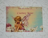 FAIRIES - BOOKPLATES - Made to order - Boys and Girls - Custom -  Set of 12 - Uncut - Self-Adhesive - FB 34