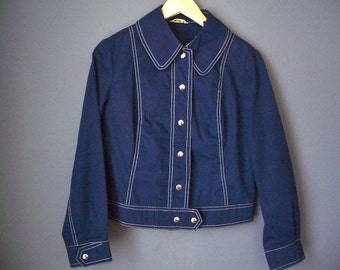 Vintage Blue Lightweight Jacket