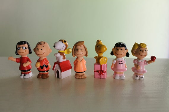 Vintage Peanuts Pencil Toppers