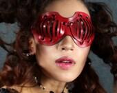 Eyecage Leather Mask