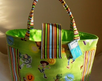 Large Toy Story Diaper Dots Allover Bag Tote TOO CUTE