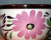 Gray's Pottery England English Copper Lustre mini sugar on sale now
