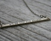 The Dash That Matters Necklace